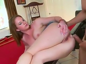An amateur girl from American college with shaved vagina and sweet boobs...