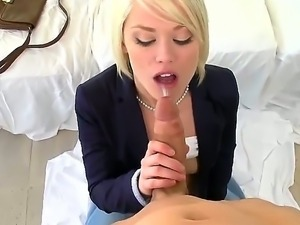 Ash Hollywood gets her cunt deep pounded by horny stud Chris Johnson