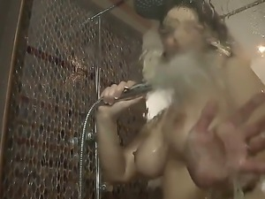 Michael U loves having busty hottie Sirale posing and shaking her tits over...