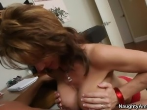 His friend's mom Deauxma is a playful hot bodied woman
