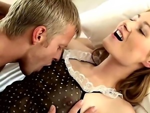 Young hottie Rady lets horny stud to please her desire in amzing hardcore show