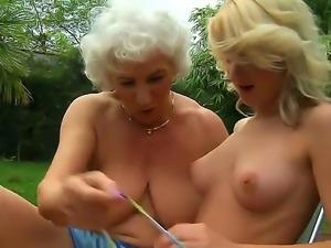 Granny norma lesbian excellent idea