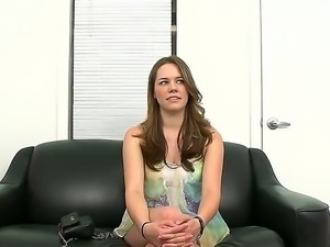 Cute Melissa Moore gets really nasty while attending to porn movie casting