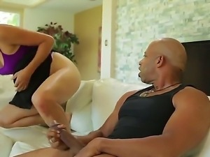 Cute and sexy Asian girl Dana Vespoli is experiencing wild fuck with extra...