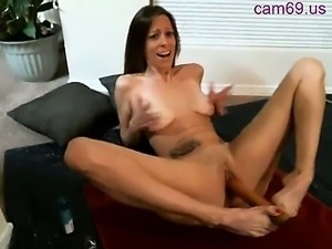 Webcam slut masturbate and squirt