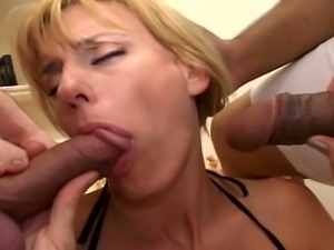 Hot milf phyllisha anne interracial threesome