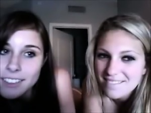 Two Hot Horny Teens on Omegle