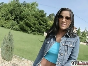 Newcomer Athina stars in her very first boy or girl scene. She gets her pussy...