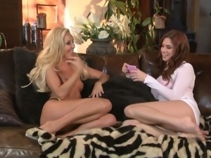 Long haired charming blonde porn diva Aaliyah Love gives interview