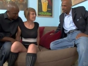 Kasmine Cash is a sex hungry wife that is hungry for big black cock. She gets...