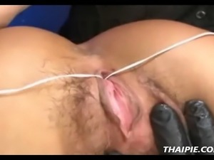 Hairy Thai Pussy Destruction