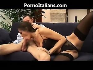 Milf italian blowjob