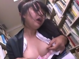 Japanese teacher nailed in the library