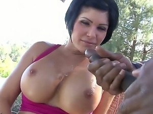 Tempting one of a kind short haired milf Shay Fox with round delicious ass...