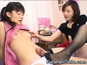 Innocent Futanari Teens!