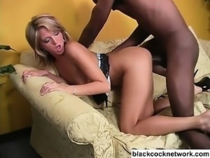 Teen babe violated by black monster cock