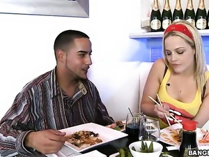 Alexis Texas with bubbly ass fucks a lot before hot dude bust a nut