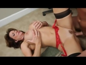 Hot big tits mature get fucked and facialized