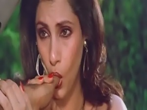 Sexy Indian Actress Dimple Kapadia Sucking Thumb lustfully Like Cock free