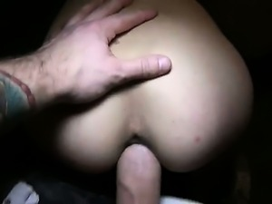 Blonde amateur taken from street fucked in flat