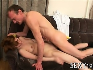 Tricky teacher seducing amazing student