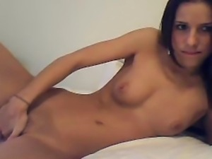 Very Sexy Teen plays with Dildo
