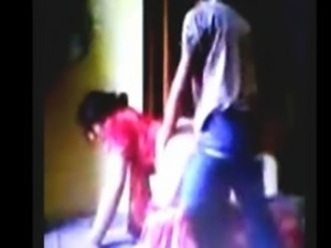2014 New Punjabi Bhabhi Red Salwar With littel Dever ji's In home sex free