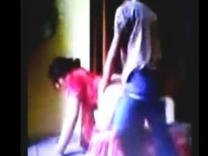 2014 New Punjabi Bhabhi Red Salwar With littel Dever ji's In home sex free