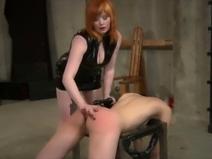 FemDom Punishing her Female Sex Slave With A Lesson In Art Appreciation