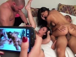 sluts get filmed while fucking