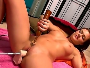 Get tons of delight watching scene with Kacee Daniels. The fascinating leggy...