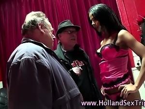 Dutch prostitute fuck cumshot