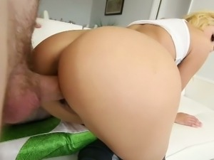 Sexy marina angel has her first pov experience