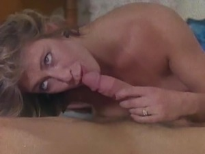 Marilyn Chambers gets boned by Tom Byrons big cock!