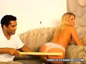 Intense Otk Spanking Porn