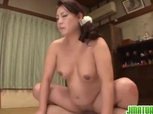 Lustful Japanese beauty Neko Ayami gets her plump body fucked