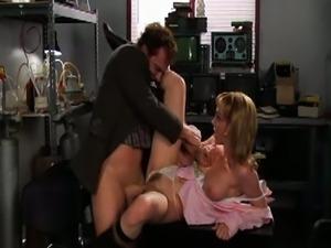 Hustler's porn ghostbusters parody.
