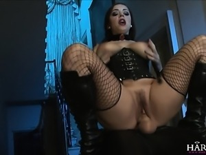 HarmonyVision Liza demands the big black cock