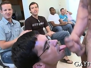 Party boyz fucked by knob