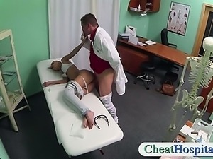 Lovely patient banged by pervert doctor