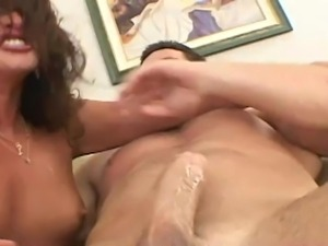 Naughty woman shows her pussy and gets it fucked