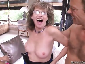 Honey Demon and Rocco Siffredi are so fucking horny in this anal action...