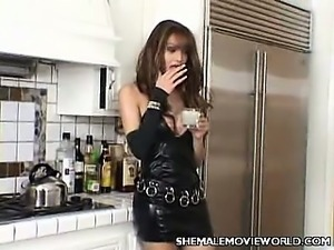 Sexy Shemale Teasing a Guy