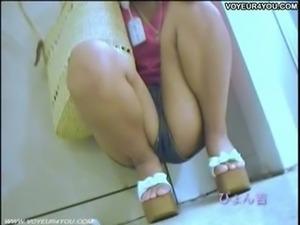 Uniform Girls Panties Released Outdoor