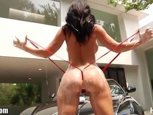 Busty and beautiful Jayden James hardcore anal scene!