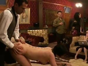 Busty prisoner used as sex slave