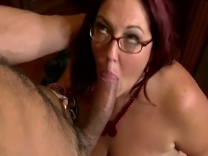 Horny fatty Peaches Larue gets blasted by cock