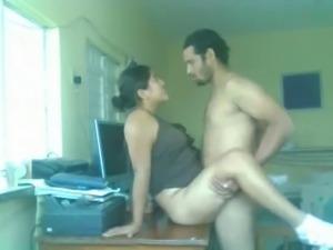 Pakistani Couple Hardcore Sex On A Table
