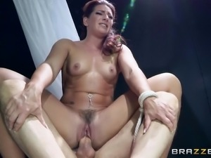 she squirts when she's impaled with cock