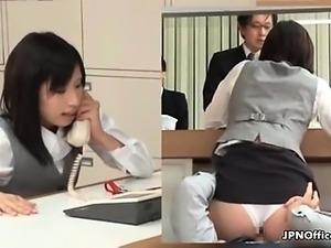 Sexy asian babe gets horny part1